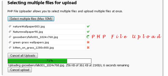 PHP 7 File Upload
